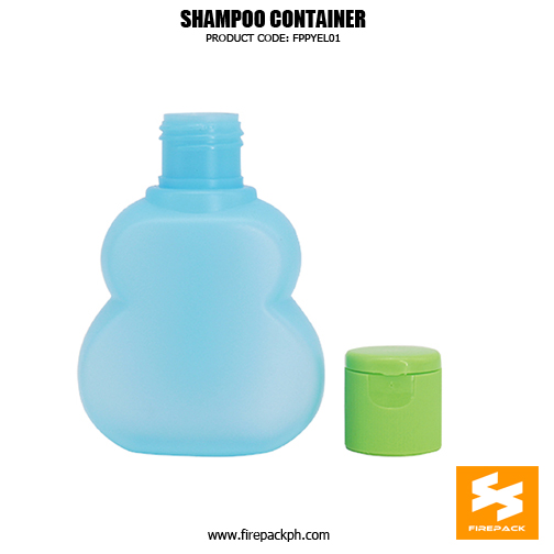Cosmetic Packaging HDPE Cute Custo2m Shampoo Bottles 5