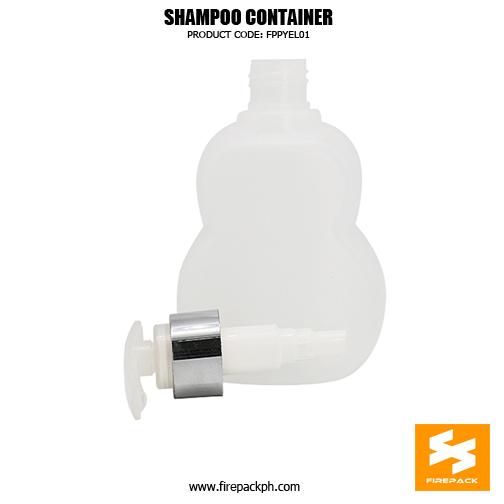 Cosmetic Packaging HDPE Cute Custom Shamp2oo Bottles 1