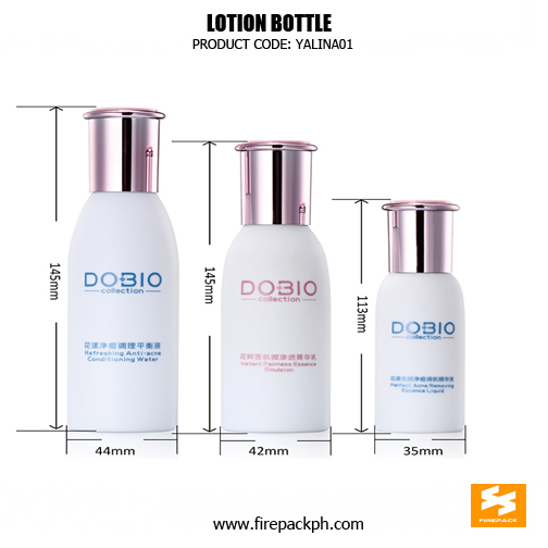 Custom Cosmetic 11Elegant PE Lotion Bottle sizes