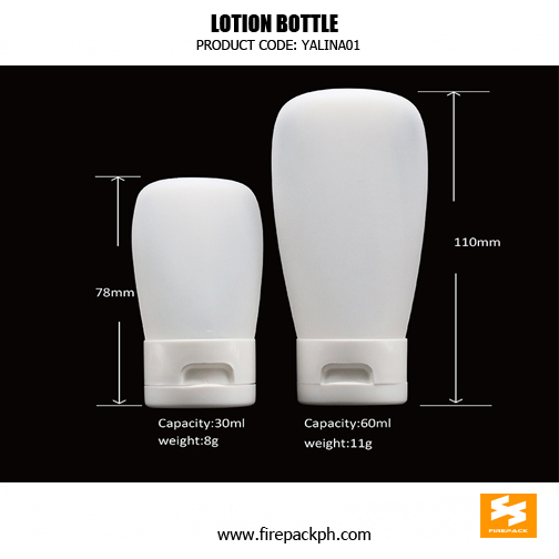 Custom Cream Container PE Plastic Cosmetic 11Bottles sizes