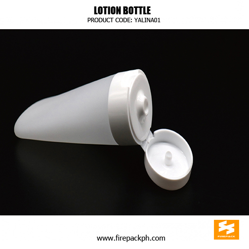 Custom Cream Container PE Plastic Cosmetic Bottles sizes