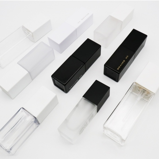 Custom Empty Cosmetic Packaging Square PET Bottle