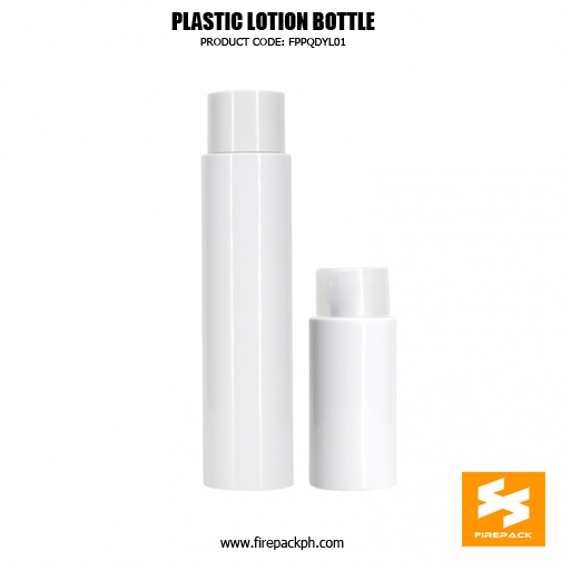 Cylinder PET bottle with different capacities 120ml, 80ml, 60ml. 3