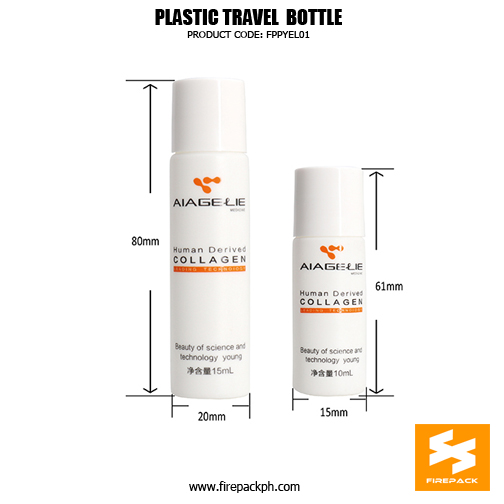 Cylinder small HDPE bottle 10ml, 15ml, 20ml for skin toner bottlE 3