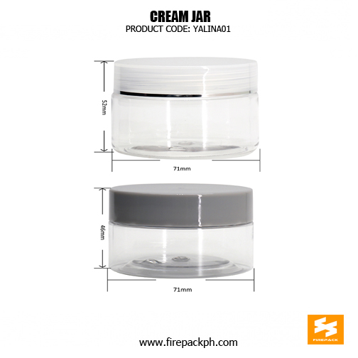 Factory Price Empty Cosmetic Container Clear Plastic 11Jars 5