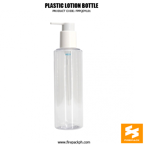 Factory Wholesale Clear 250ml Plastic Cosmetic Pacakging PET Bottle 1