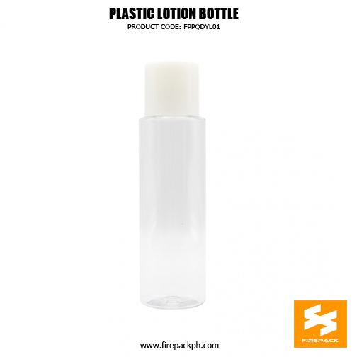Factory Wholesale Clear 250ml Plastic Cosmetic Pacakging PET Bottle 2