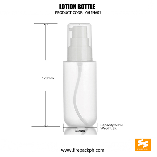 Factory Wholesale Cosmetic Packaging White HDPE Spray Bottle 60ml size