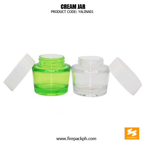 Fancy Skincare Packaging Clear PET Cosmetic Containers 2