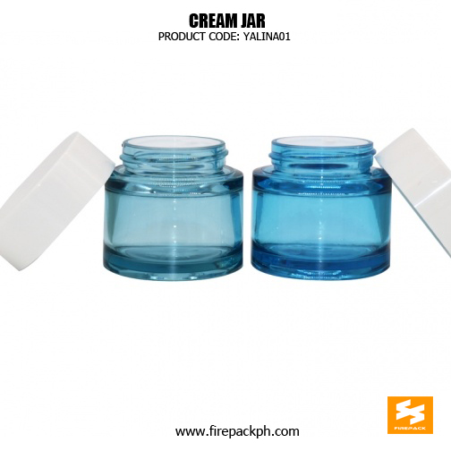 Fancy Skincare Packaging Clear PET Cosmetic Containers 3