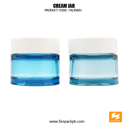 Fancy Skincare Packaging Clear PET Cosmetic Containers