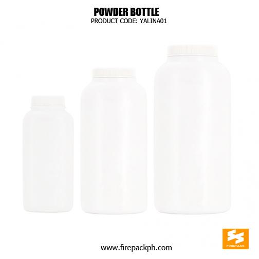 HDPE baby powder bottle