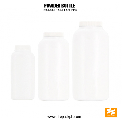 HDPE baby powder bottle