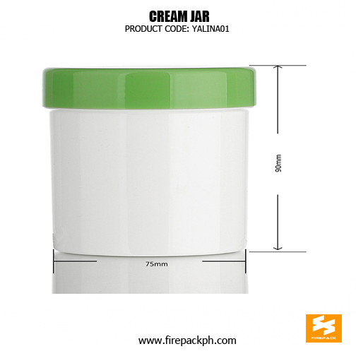 Hot Sale Hair Cream Container Plastic Screw Top Jars sizes
