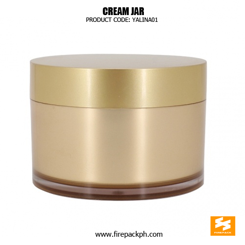 Luxury Double Wall Cosmetic Container Skin Care Jars 3