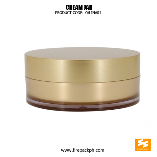 Luxury Double Wall Cosmetic Container Skin Care Jars 4
