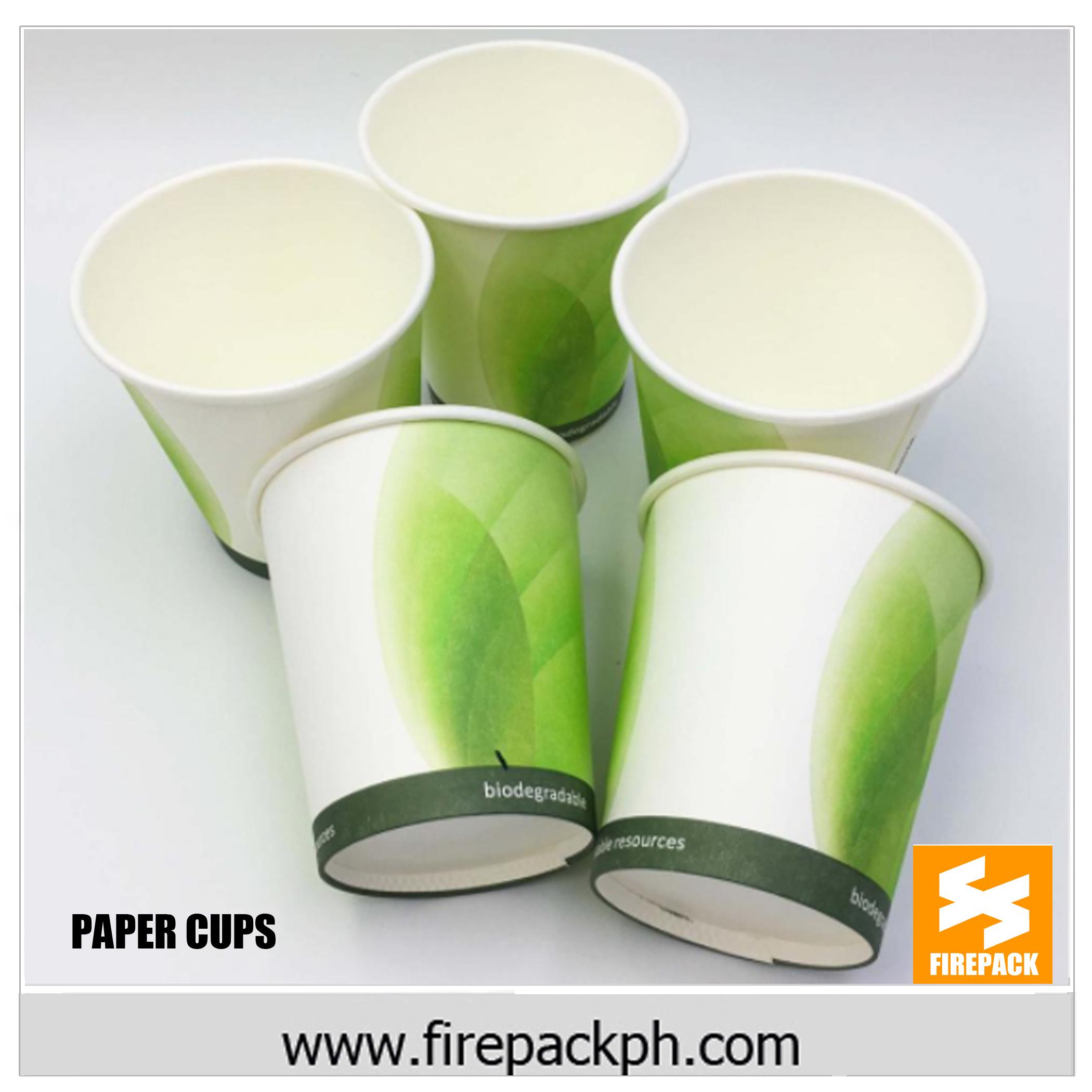 PAPER CUPS – FIREPACK