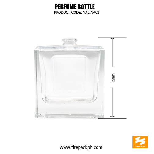 Personalized Square Glass 100ml Perfume Bottle sizes