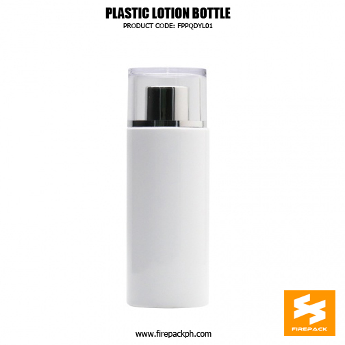 PET toner bottle with silver plating cap, fancy look for skincare packaging. 3