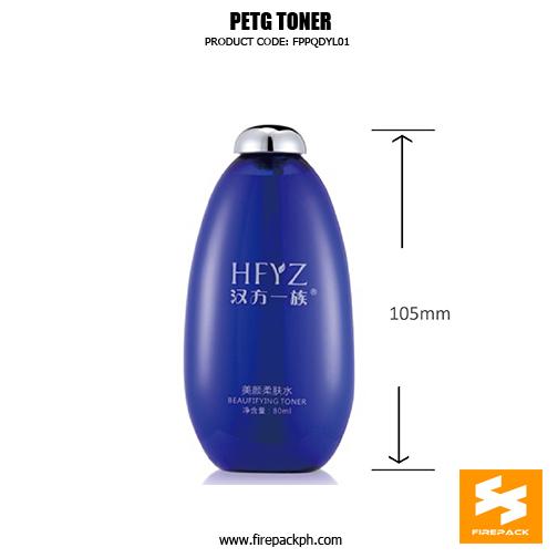 PETG TONER BOTTLE 22 size
