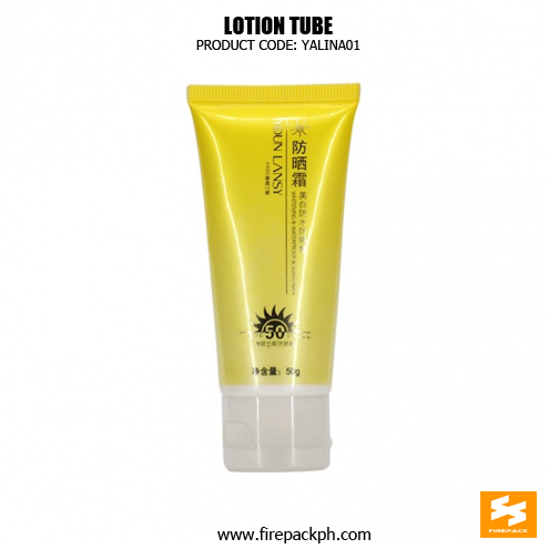 Skincare Packaging Empty Flexible Cosmetic Tube For Sunscreen