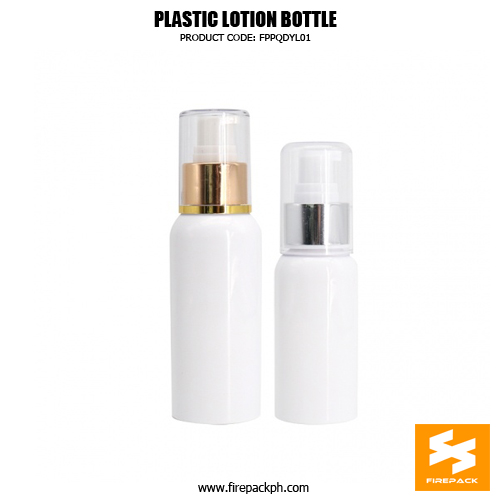 Skincare Packaging Lotion Container PET Plastic Pump Bottle 1