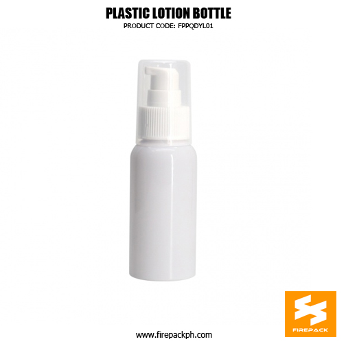 Skincare Packaging Lotion Container PET Plastic Pump Bottle 5