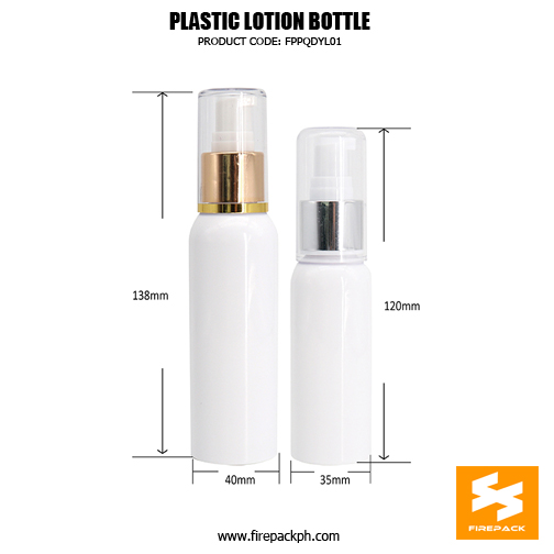 Skincare Packaging Lotion Container PET Plastic Pump Bottle detail 2