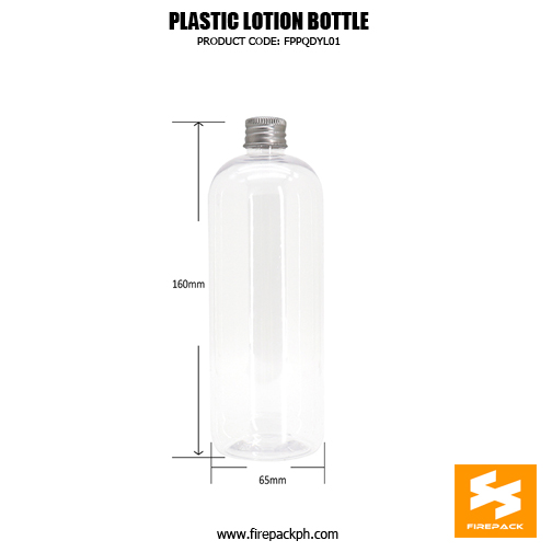 Skincare Packaging Lotion Container PET Plastic Pump Bottle detail