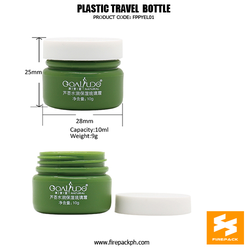 Skincare Packaging Small Empty 10ml Plastic Containers For Travel 4