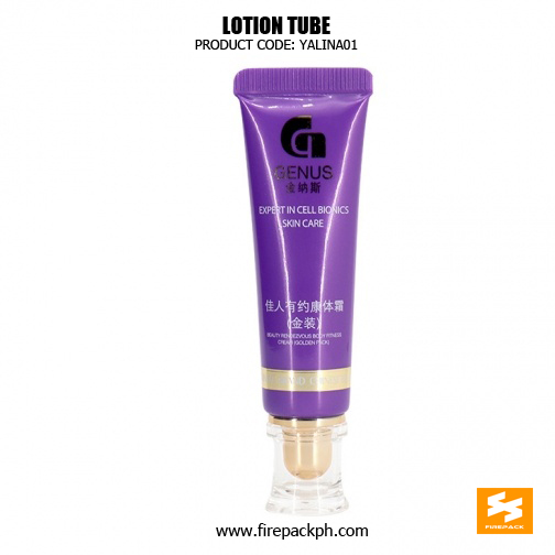 Soft Empty Plastic Tube Packaging With Clear Acrylic Cap 2