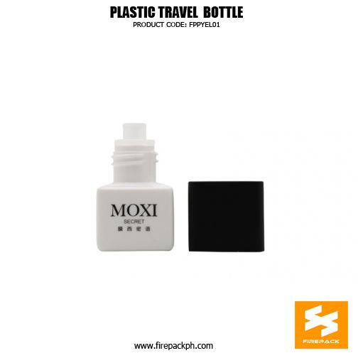 Tiny Sample Pack 5ml Square PP Cosmetic Cream 2detaisl