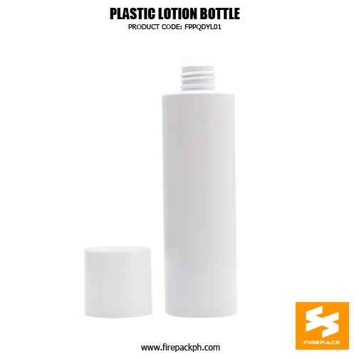 White color PET toner bottle 200ml, color can be customized 2