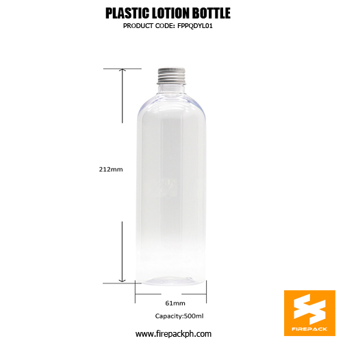 Wholesale Cosmetic Lotion Bottle PET Plastic Containers sizes