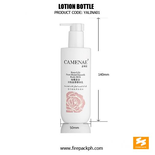 Wholesale Custom 250ml White PE Shampoo Pu2mp Bottle sizes