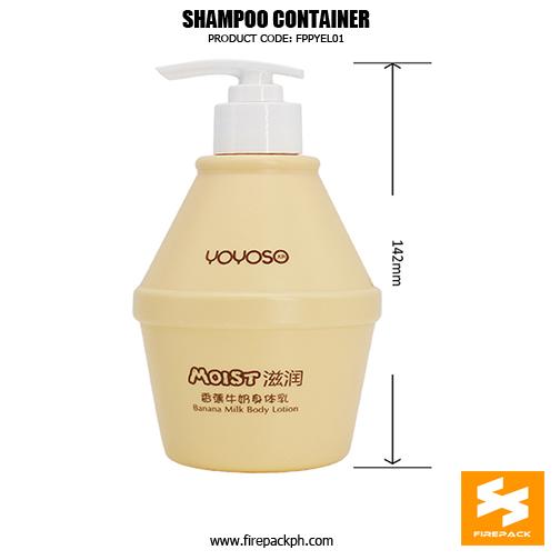 Wholesale Custom 300ml Fancy Shampoo Bottles sizes
