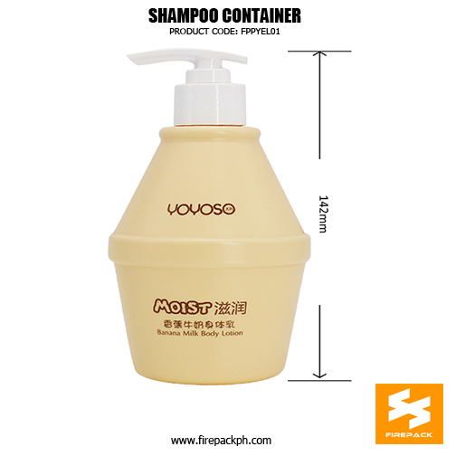 Wholesale Custom 300ml Fancy Shampoo Bottles sizes