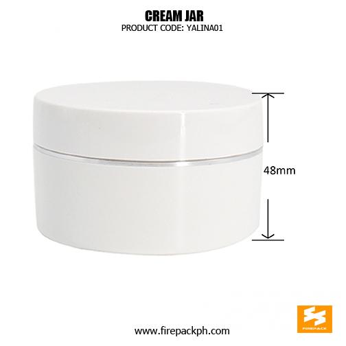 Wholesale Custom Round Empty Plastic Jar 200ml sizes