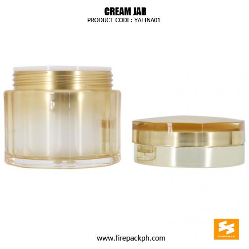 Wholesale Empty Plastic 50g Acrylic Cosmetic Jars 3