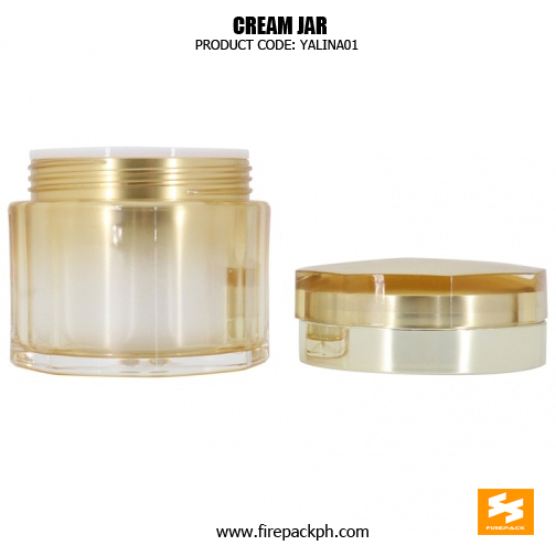 Wholesale Empty Plastic 50g Acrylic Cosmetic Jars 3
