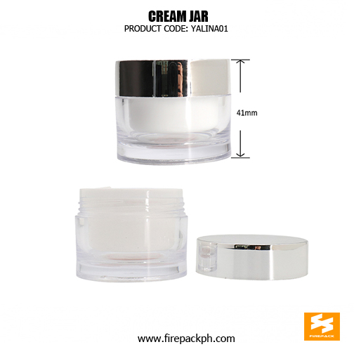 Wholesale Empty Small Plastic Container Cosmetic Cream Jar sizes