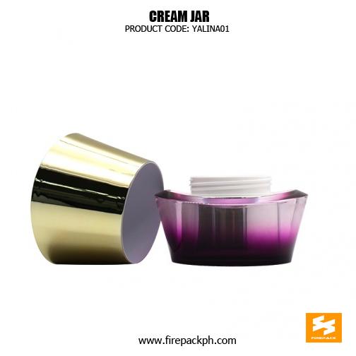 Wholesale Luxury Skincare Pacakging Acrylic Beautiful Jars 2