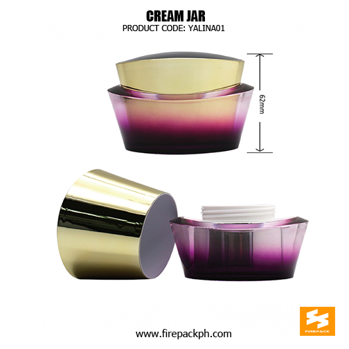 Wholesale Luxury Skincare Pacakging Acrylic Beautiful Jars 3